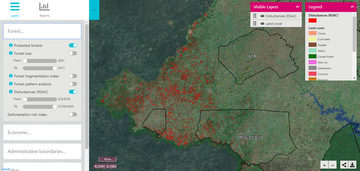 Vivid Economics' satellite early warning system for Cote d'Ivoire'.